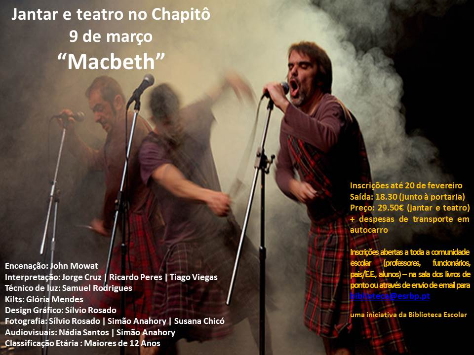 Cartaz Macbeth